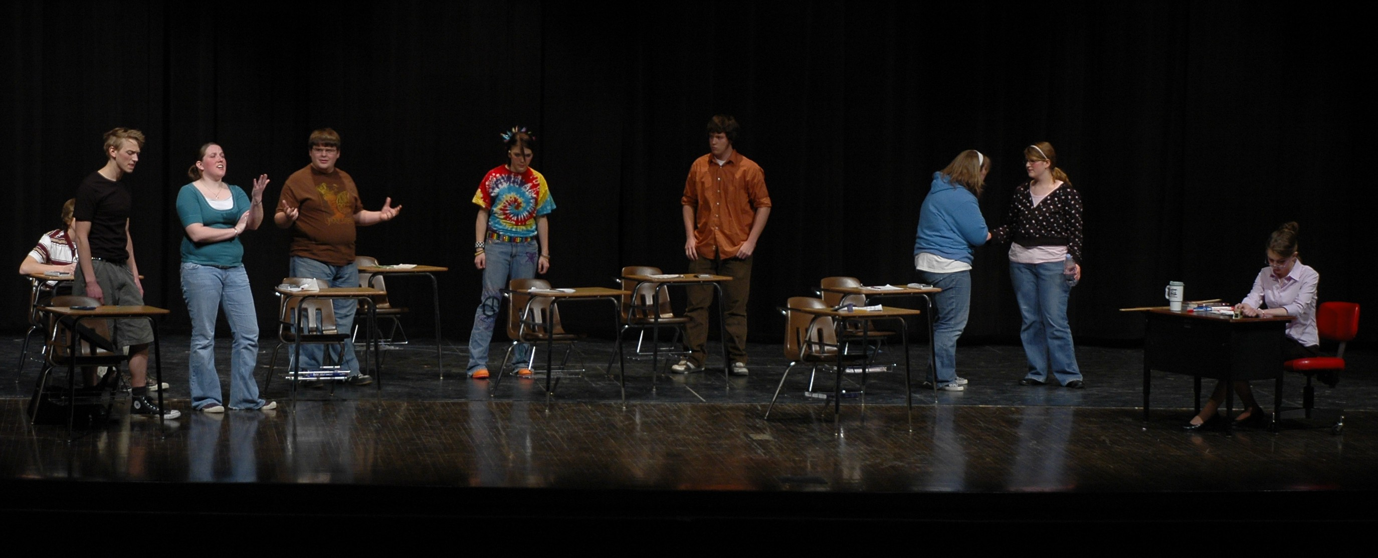 Webster High School presents: After Math by Jonathan Dorf