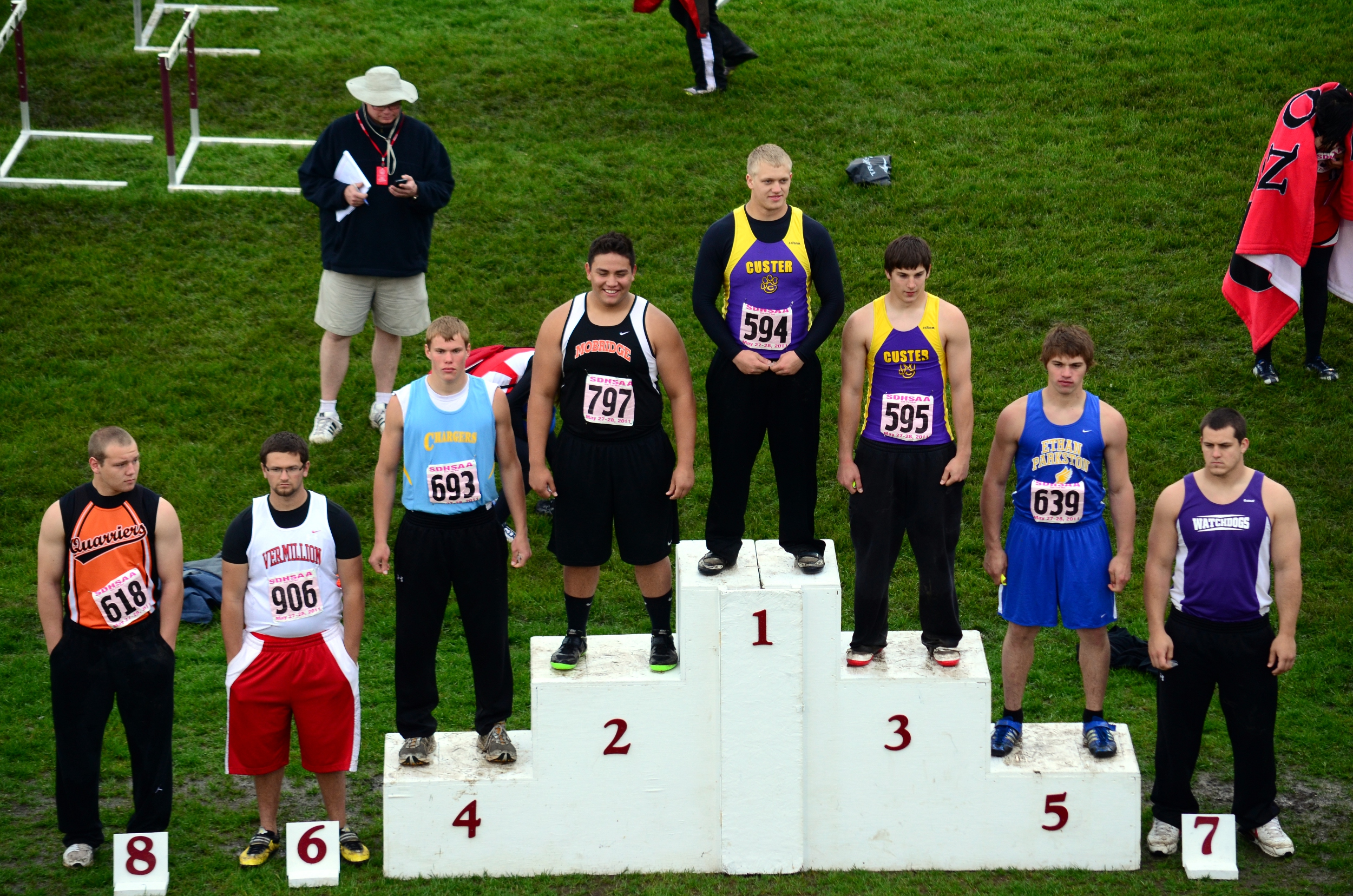 Discus Track And Field Sdhsaa State Track Amp Field